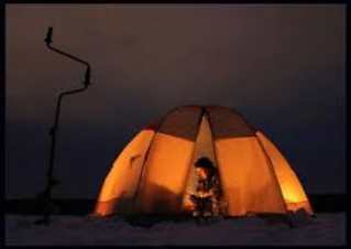 Выбор палатки для зимней рыбалке